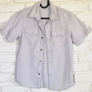 Old Navy Short Sleeved Button Down Shirt - NWOT